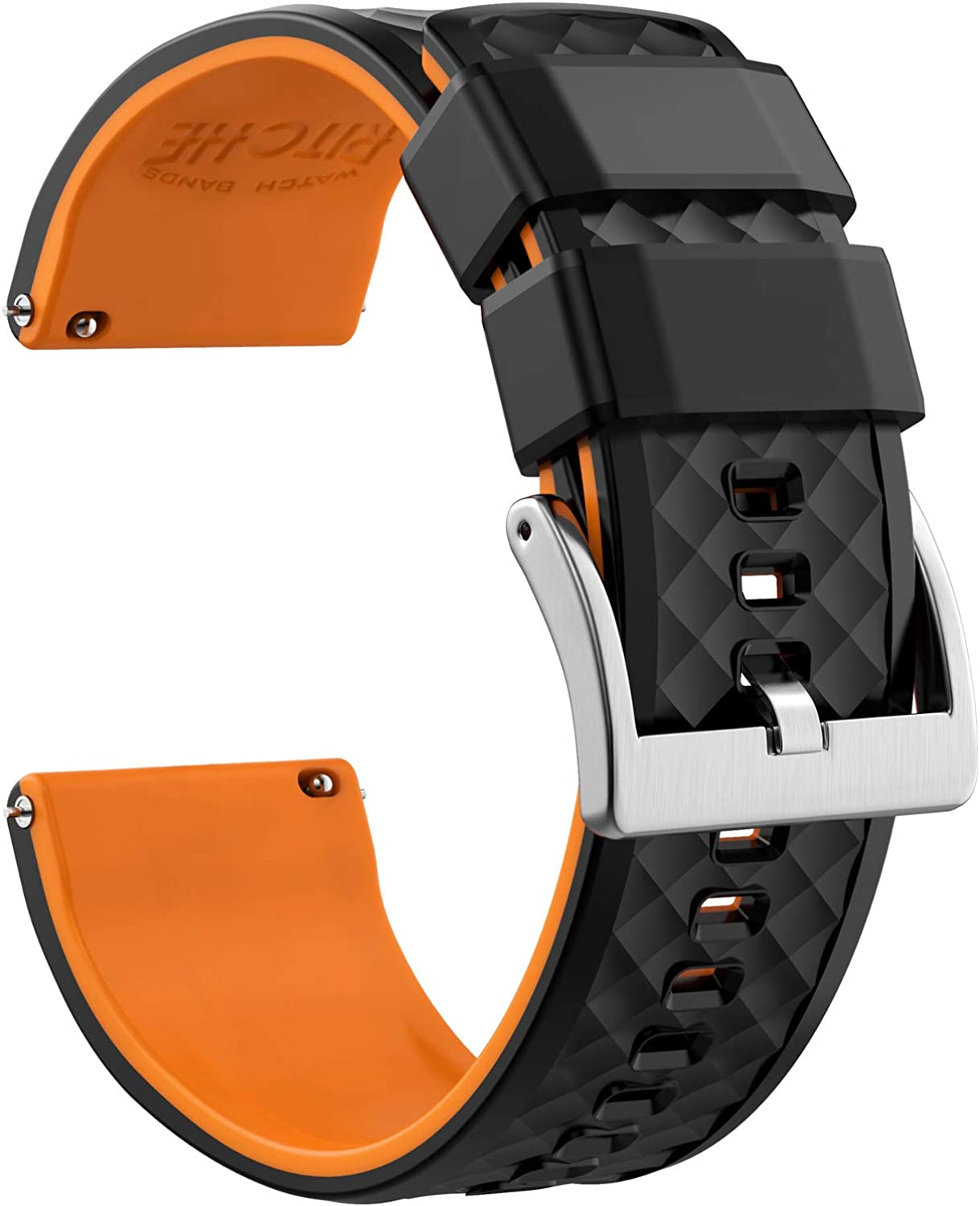Cheap super special price Ritche Silicone Watch Max 49% OFF Bands 18mm 19mm 23mm Q 24mm 22mm 21mm 20mm
