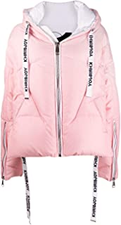 KHRISJOY Luxury Fashion Womens AFMW001NYDGRLPKWH Pink Down Jacket | Fall Winter 19