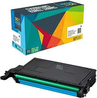 Do It Wiser Compatible Toner Cartridge Replacement for CLT-C508L Samsung CLP-620ND CLX-6220FX CLX-6250FX CLP-620 CLP-670 CLP-670N CLP-670ND   Cyan