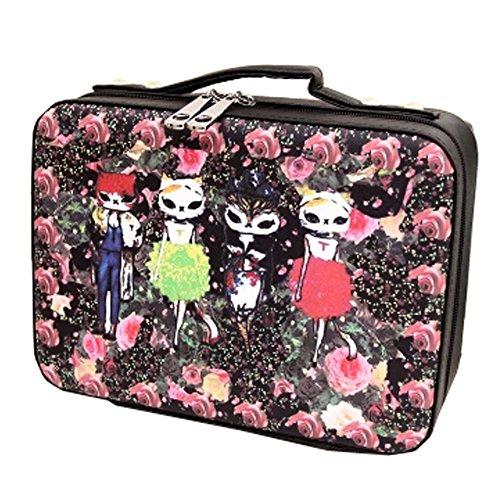 Grand sac cosmétique de maquillage sacs de Pochettes de maquillage waterproof, J