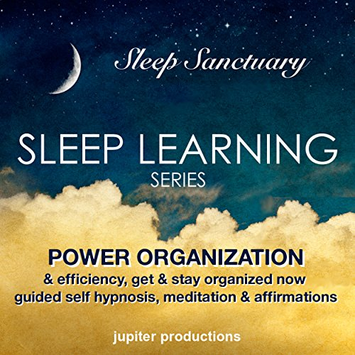 Power Organization & Efficiency, Get & Stay Organized Now cover art