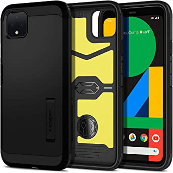 Spigen Tough Armor Designed for Google Pixel 4 Case (2019) - Black