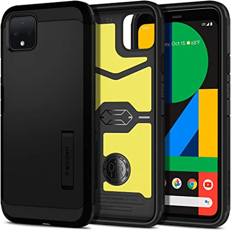 Spigen Tough Armor Designed for Google Pixel 4 XL Case (2019) - Black