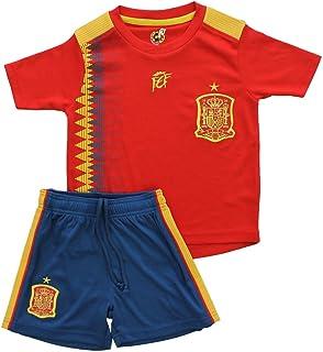 Mini Kit Replica Primera Equipación para niño Fase Final del Mundial de Rusia 2018 Compuesto de Camiseta,Pantalones