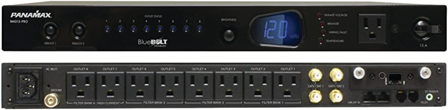 Panamax M4315-PRO Bluebolt 9-Outlet 15 Amp Power Management with Control and Energy Monitoring