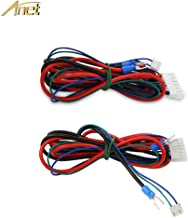 Anet 2pcs/lot A8 A6 Heated Bed Cable 90cm for Mendel RepRap i3 Anet 3D Printer, Upgraded MK3 Hot Bed Cable Line for 3D Printer Wire