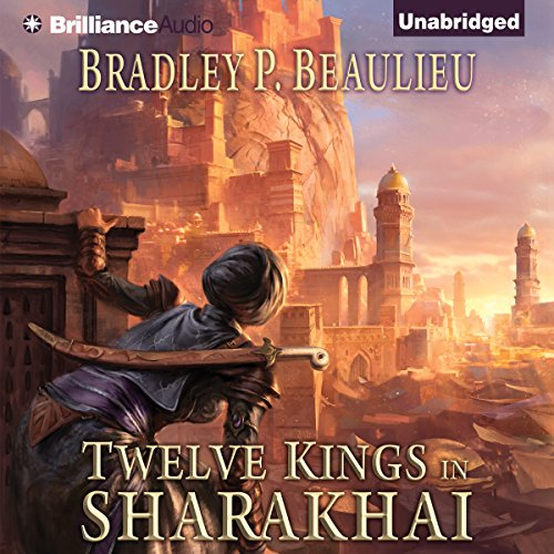 Twelve Kings in Sharakhai cover art