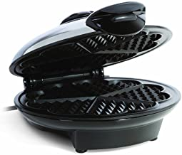 Euro Cuisine WM520 Eco Friendly Heart Shaped Waffle Maker – PTFE and PFOA Free Non..