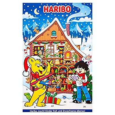 haribo advent calendar, christmas sweets gift, 300g Haribo Advent Calendar, Christmas sweets gift, 300g 61ESQY0J25L