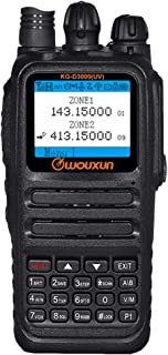WOUXUN KG-D3000 (UV) Dual Band Digital DMR and Analogue VHF & UHF Portable Two Way Radio Dual Time Slot