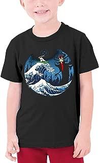 NNaseg Kids Casual Tee O-ptic Gaming Logo 3D Print Graphics T-Shirt for Boys Girls