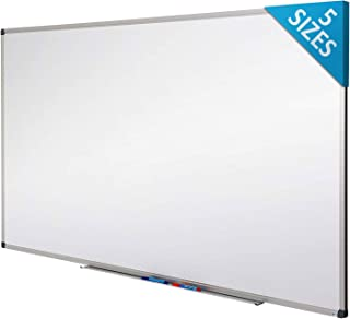 Master of Boards White Board | Magnet Dry Erase Board | Magnetic Message and Memo Planner for Commercial or Private Use | 5 Sizes | 18