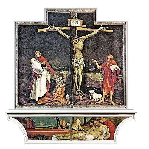 3er-Set Altarfalz-Karte »Auferstehung Christi«: mit dem »Isenheimer Altar« von Matthias Grünewald