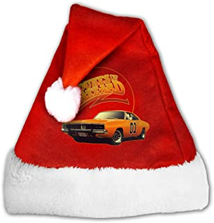 Huaichuanhua Dukes of Hazzard General Lee Christmas Hat