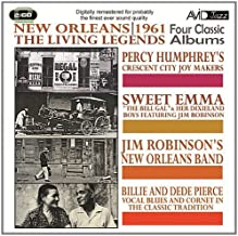 New Orleans: 1961 The Living Legends - Four Classic Albums by Percy Humphrey
