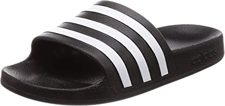 adidas Adilette Aqua, Unisex Adults Slides, Black (Core Black/Ftwr White/Core Black), 7 UK (40 2/3 EU)