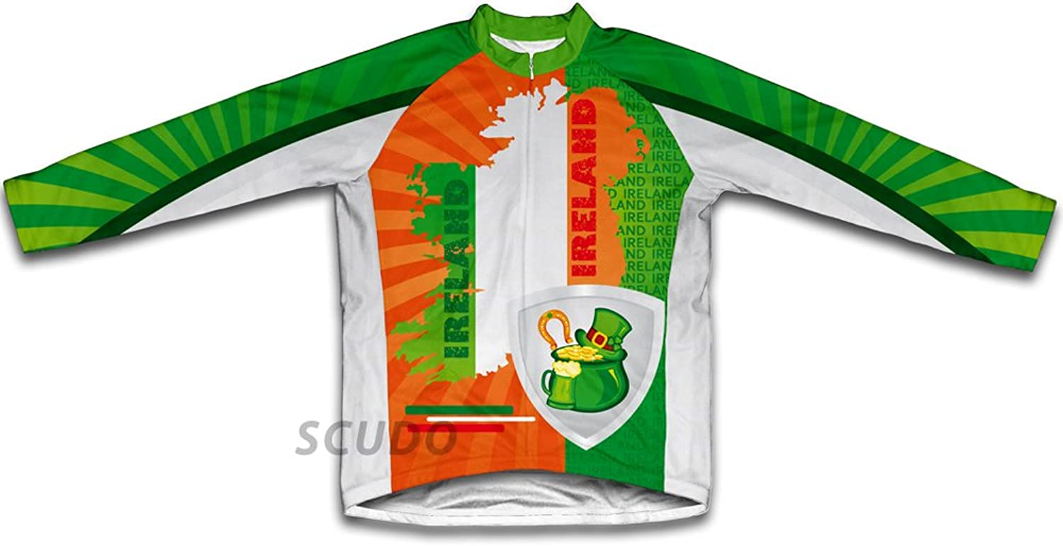 Luck of The Irish Long Sleeve Cycling Jersey for Women