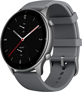 Amazfit GTR 2e Health & Fitness Smartwatch with GPS, 24/7 Heart Rate Monitoring, Exercise Tracking, 24 Days Battery, Music...