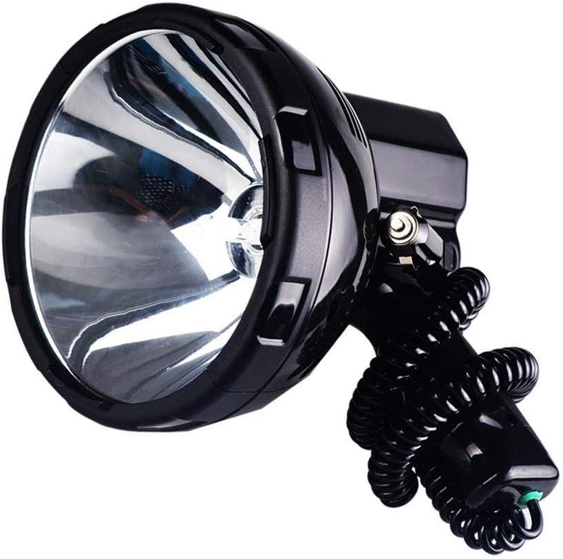 JSJJAUA Industry No. 1 searchlight Super Bright 55% OFF 12V 220W HID H3 Spotli Portable