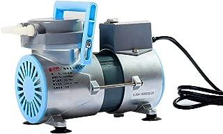 KUNHEWUHUA 15 L/m Lab Diaphragm Vacuum Pump Oil Free Oilless Medical Mute Pump GM-0.2 (110V)
