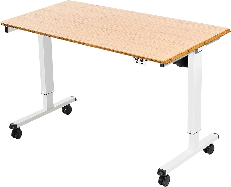 手数料無料 Stand Up 超歓迎された Desk Store Electric Standing Adjustable Height wit