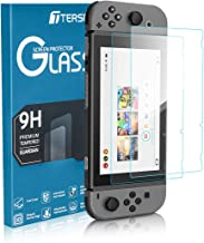 Tersely Screen Protector Glass for Nintendo Switch, [2 Pack] Premium Tempered Glass Screen Protector for Nintendo Switch (2017)