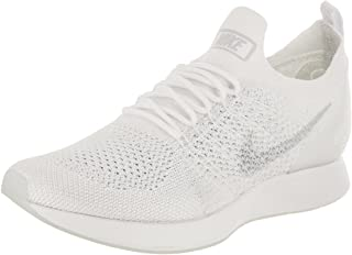 Women's Air Zoom Mariah FK Racer White/Pure Platinum Running Shoe 11 Women US