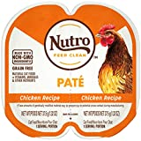 NUTRO Perfect Portions Grain Free Natural Wet Cat Food, Paté, Chicken, (24) 2.6 oz. Twin-Pack...