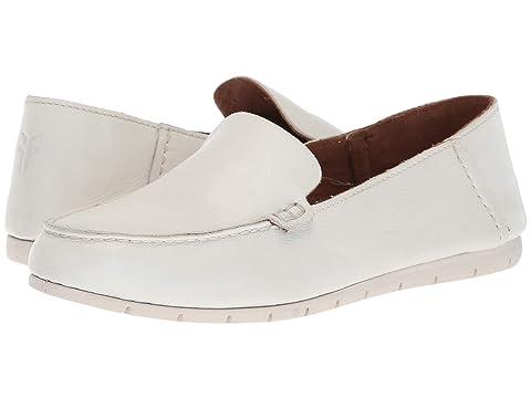 Frye Shoes , WHITE POLISHED SOFT FULL GRAIN