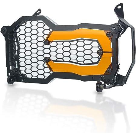 Motorrad Schutz Zubehör Frontscheinwerfer Schutzhülle Für Bmw R1200gs R1200gs Adventure 2014 2020 R1250gs R1250gs Adventure 2018 2020 Orange Auto