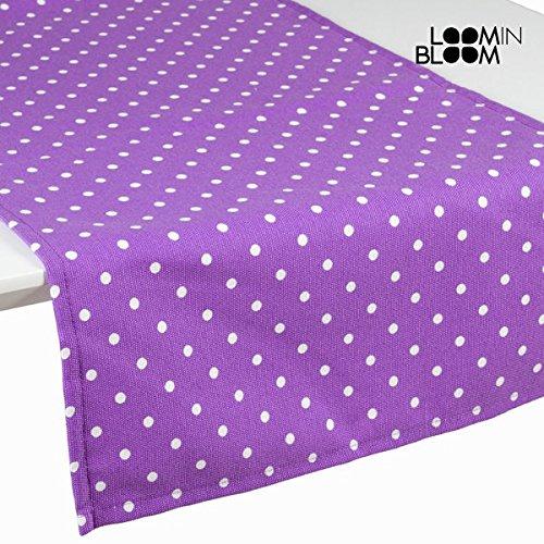 Tenda a pannello a pois violetto - Little Gala Collezione by Loomin Bloom (1000025123)