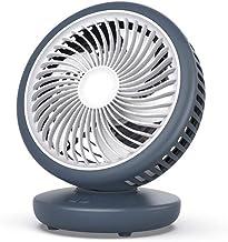 Ventilateur D'Été, Ventilateur de Bureau, Ventilateur de Bureau en Sourdine, Petit Ventilateur, Bureau de Charge Usb Mini ...
