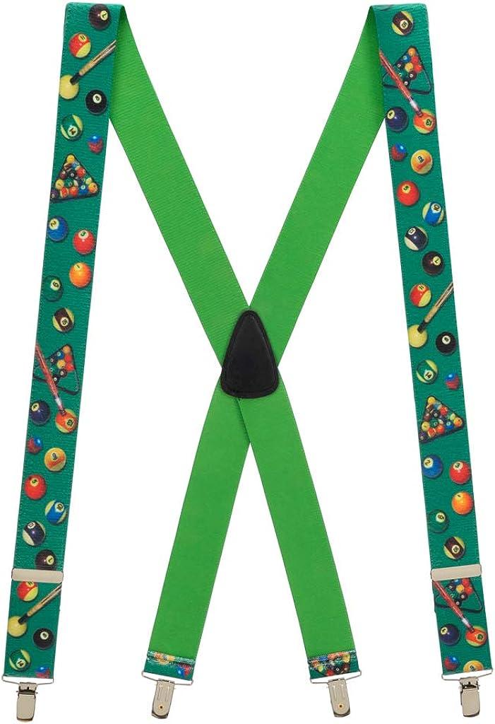 SuspenderStore Men's Pool Suspenders - CLIP
