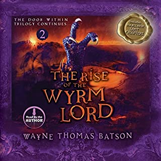 The Rise of the Wyrm Lord audiobook cover art