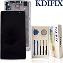 KDIFIX for LG G Stylus H631 LS770 MS631 H635 H630 LCD Touch Screen Assembly + Frame with Full Professional Repair Tools kit (Black+Frame)