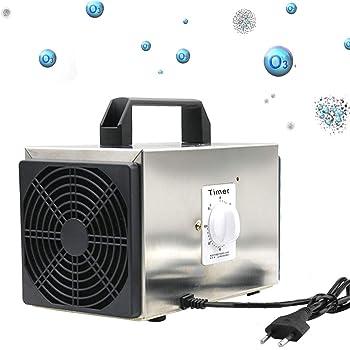 Generador de ozono Portatil,10g /h Generador de ozono purificador ...