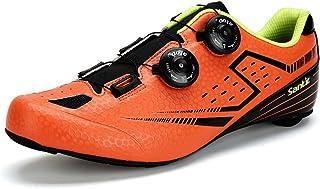 【サンティック】Santic メンズ ビンディングシューズ カーボンソール ロードバイク サイクリングシューズ 超軽量 2A