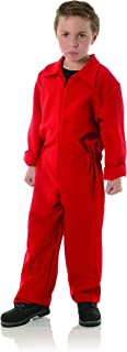 Child's Red Boiler Suit Costume