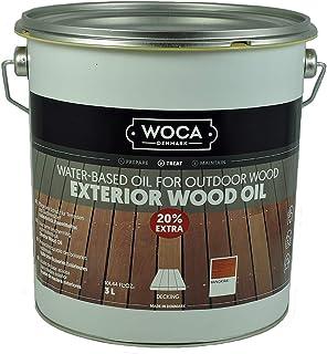 Woca Exterior Öl Bangkirai - 3 Liter - Terrassenöl Jubiläumsangebot