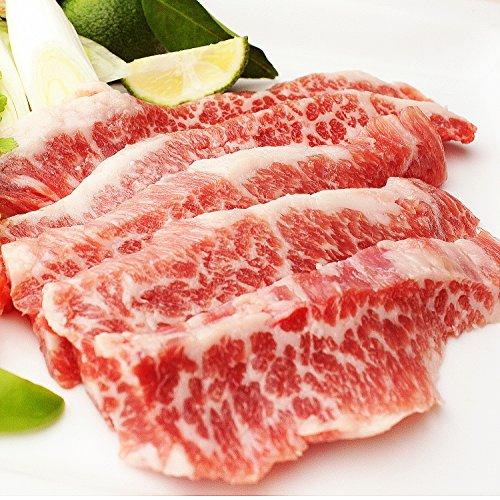 イベリコ豚専門店スエヒロ家 イベリコ豚 幻の 大トロ カルビ 焼肉 1kg BBQ バーベキュー