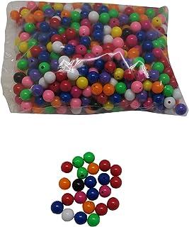 Craftbox 15 Mm Multi Colored Plastic Beads