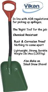 (Sneeuw) schepRood/groen/zwart polypropyleen, 950 mm lengte, blad 271 mm breed