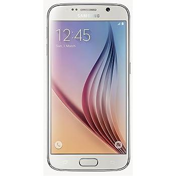 Samsung Galaxy S6 G920 32GB Unlocked GSM 4G LTE Octa-Core Smartphone, White Pearl
