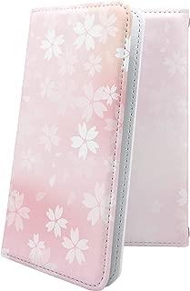 AQUOS Compact SH-02H ケース 手帳型 サクラ 桜 花柄 花 フラワー アクオス コンパクト 手帳型ケース 和柄 和風 日本 japan 和 SH02H AQUOSCompact おしゃれ