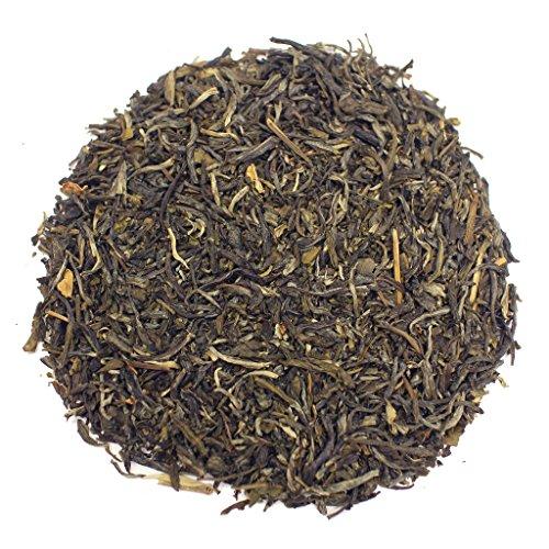 The Tea Farm - Jasmine Mao Feng White Tea - Chinese Loose Leaf White Tea (2 Ounce Bag)