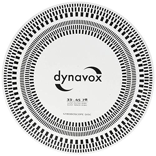 DynaVox Instelrugleuning/stroboscoopschijf