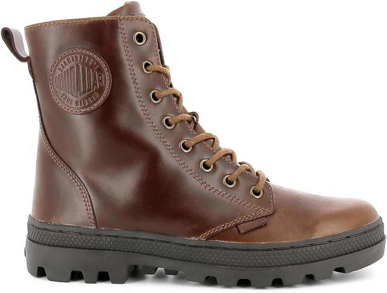 Palladium - Pallabosse Off Leather - - - 95527-237-M - Damen Stiefel Stiefel Braun (Sunrise   Chocolate) (37)  d62eb1