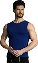 +MD Hombres Gym Tanques musculares Cool Dry Workout Tank Tops Cuello sin Mangas Camisetas sin Mangas
