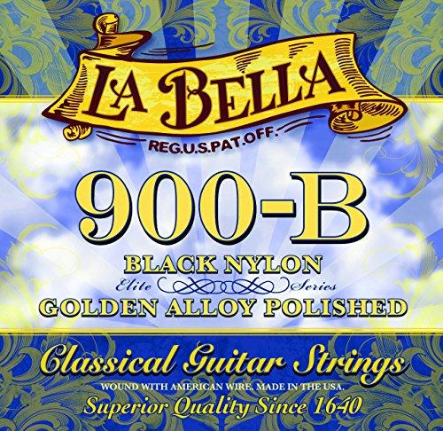 La Bella 7D80 - Juego de cuerdas de nylon