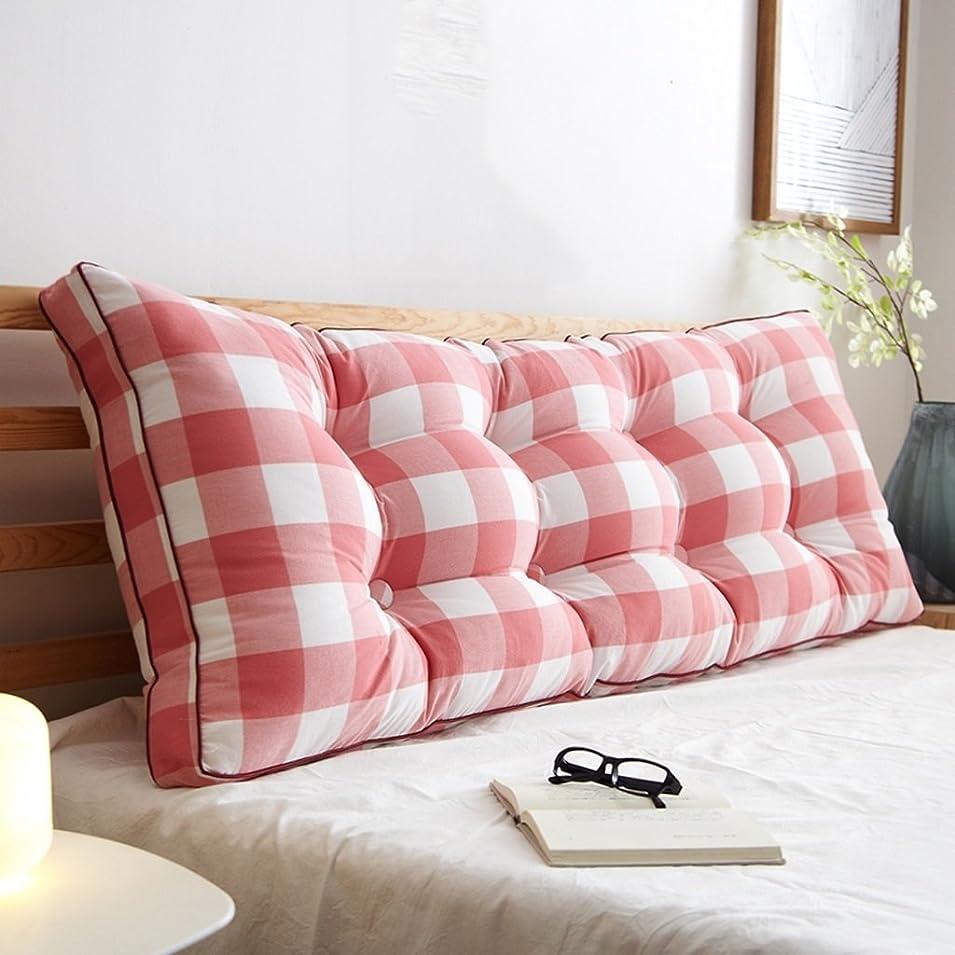 ファシズムうま終わりWCH ウエストサポートパッド取り外し可能なベッドサイドトライアングルダブルベッドルーム枕枕枕クッション (Color : B, サイズ : 120CM)
